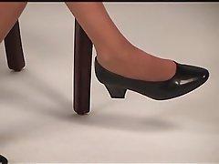Foot Fetish, Pantyhose, Secretary