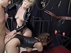 BDSM, Femdom, German, Group Sex, MILF