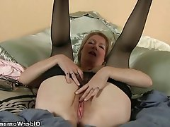 Granny, Mature, MILF, Pantyhose, Stockings