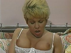 Anal, Blonde, Double Penetration, Pantyhose, Threesome