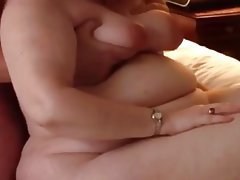 Bbw wife clair pussy play