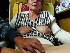 Amateur, Granny, Masturbation, Webcam
