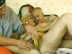 French, Granny, Hairy, Mature, Old and Young