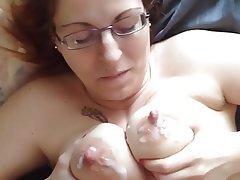 Amateur, Cumshot, Nipples, Redhead