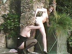 Cunnilingus, Group Sex, Lesbian, Stockings, Vintage