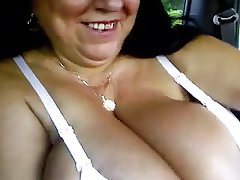 BBW, Big Boobs, Granny, Handjob