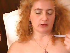 Mature, Italian, Masturbation, MILF, Stockings