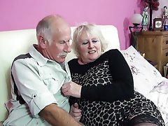 Blowjob, British, Granny, Mature