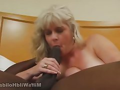 Blonde, Blowjob, Interracial, Mature, MILF