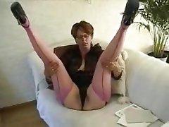 Mature, Pantyhose, Stockings