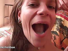 Beautiful french anal