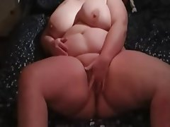 Amateur, BBW, Big Boobs, Masturbation, POV
