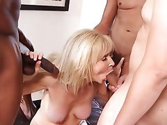 Blonde, Granny, Mature, Old and Young