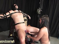 BDSM, CFNM, Femdom, Foot Fetish, Stockings