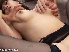 Asian, Babe, Big Tits, Blowjob, Cumshot