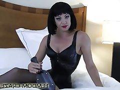 BDSM, Bondage, Femdom, POV, Spanking