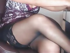 Mature, MILF, Stockings, Webcam