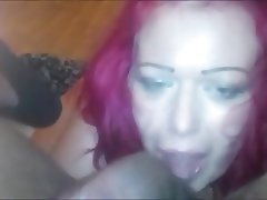 Amateur, Big Boobs, Blowjob, Interracial, Redhead