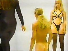 BDSM, Femdom, Spanking, Stockings, Vintage