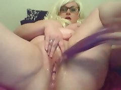 BBW, Big Boobs, Masturbation, Squirt